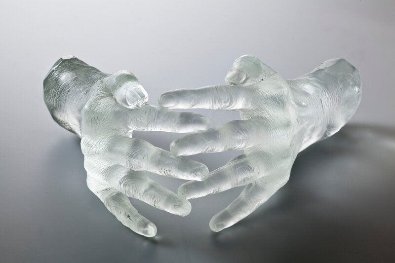 Jaume Plensa, Laura's Hands, 2011, © Francesco Allegretto