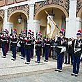 Fête nationale monégasque les 18 et 19 novembre 2017 en principauté de montecarlo
