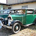 Mathis type pyc faux cabriolet 1931