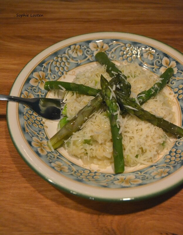 Risotto asperges vertes2