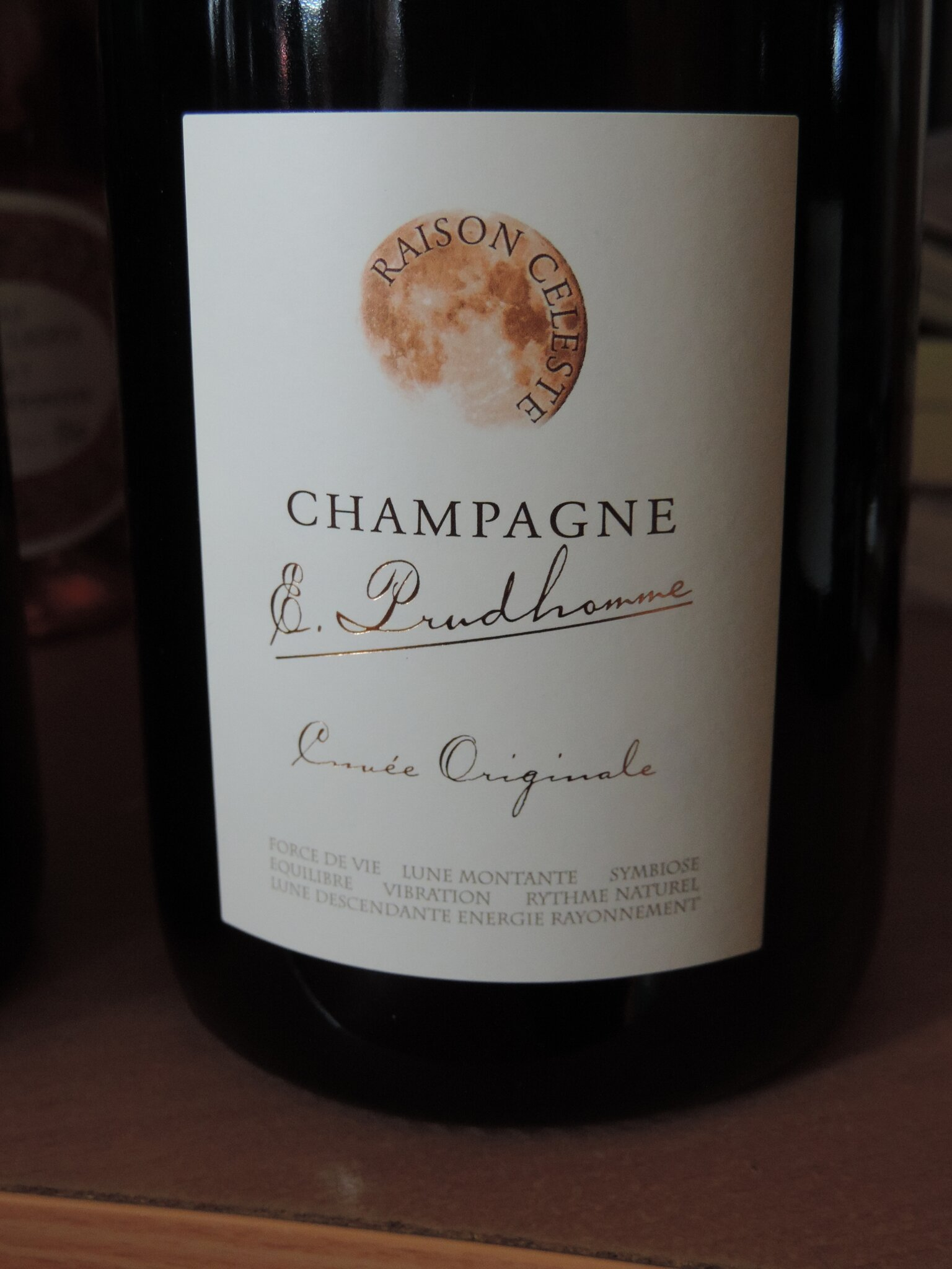E.Prudhomme champagne brut nature