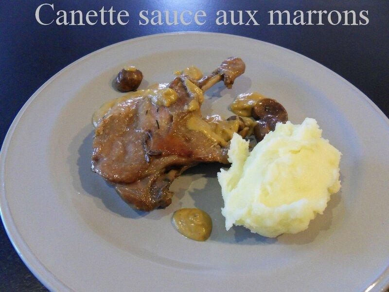 canette sauce aux marrons 2