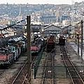 Sotteville les rouen: le plus grand cimetiere ferroviaire de france