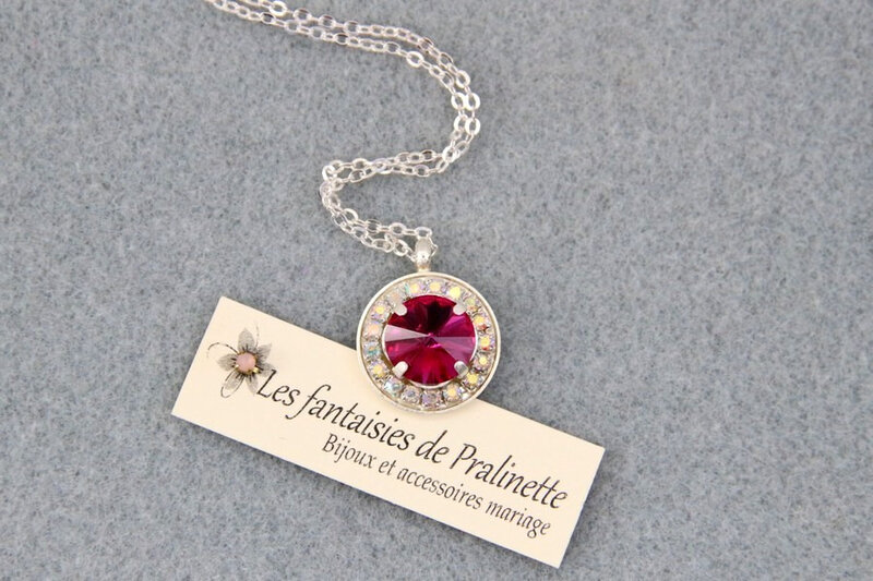 bijoux-mariage-soiree-temoin-pendentif-berenice-cristal-rose-fuchsia-opal-argente-strass
