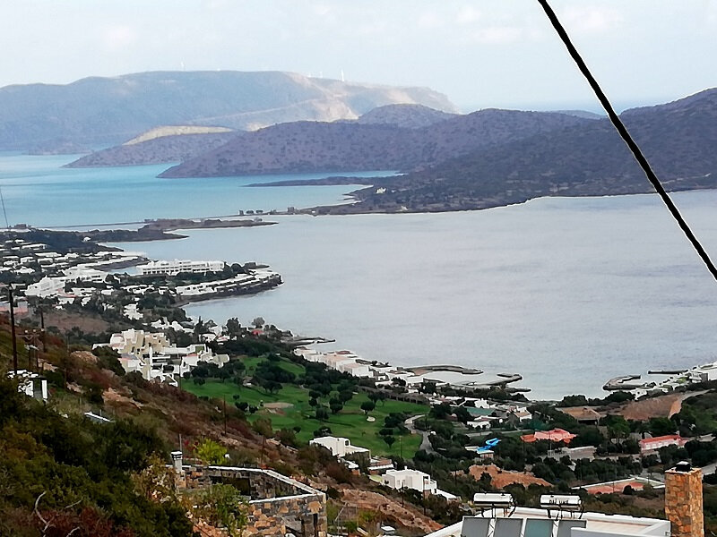 Crete - baie Elounda