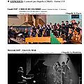 Programme festival 7 chapelles en arts 2019