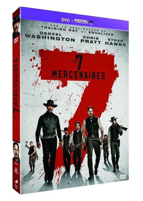 7 MERCENAIRES DVD