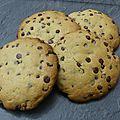 Cookies à la fêve de tonka