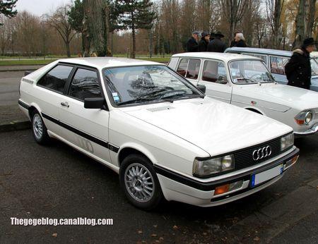 Audi coupé GT phase 2 (1985-1988)(Retrorencard janvier 2013) 01