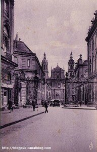 Nancy_Cath_drale_et_rue_Maurice_Barr_s