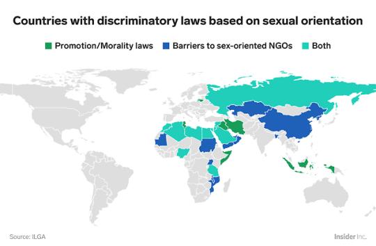 homosexualité homophobie pays homophobe