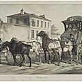 Nogent-le-républicain le 19 mars 1795 : réforme de 4 chevaux de postes du citoyen vasseur.