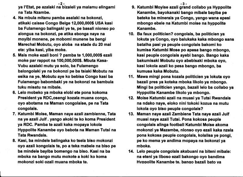 LE GRAND MAITRE MUANDA NSEMI VOUS PRESENTE MONSIEUR KATUMBI MOISE EN RDC b