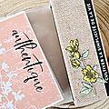 Nsd : tutoriel vidéo mini album parfums printaniers (partie 3)