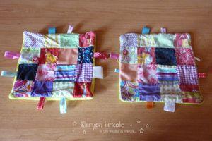 Doudous patchwork