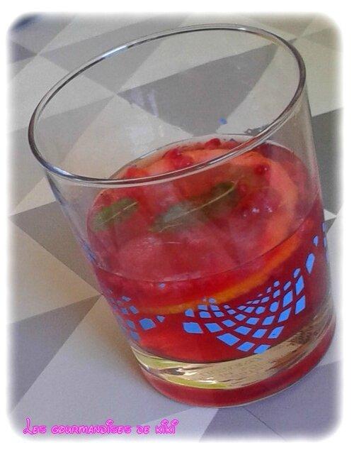 Mojito framboise sans alcool