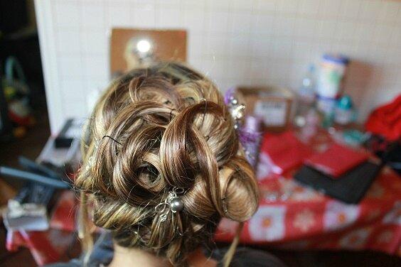 mariage Mélanie coifffure 21 juin 2014