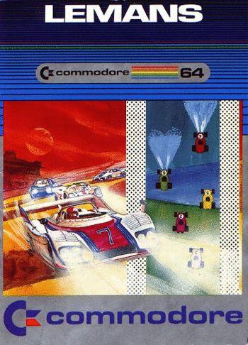 Le Mans sur Commodore 64