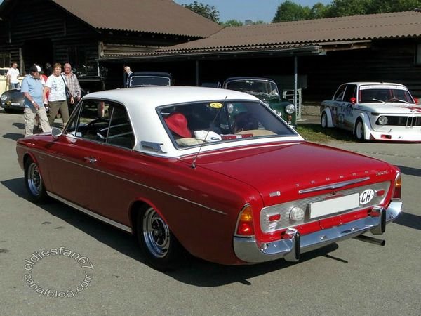 ford taunus 20m ts hardtop coupe p5 1964 1967 b