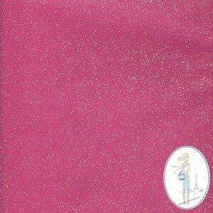 tissu-coton-enduit-paillete-rose