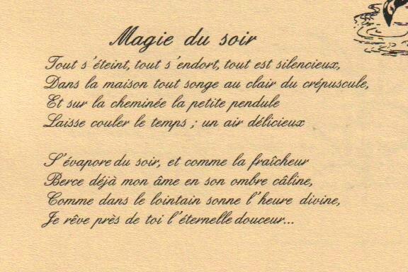 54 Magie Du Soir Isabelle Callis Sabot
