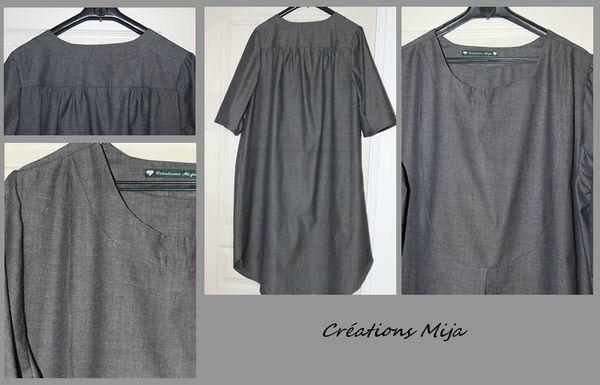 robe grise