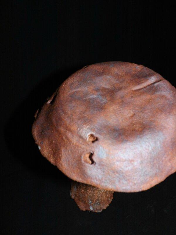 loriginal,céramique,grès,terre,champignon,oxyde,sculpture,jardin,déco,extérieur,argile,engobe,cadeau (8)