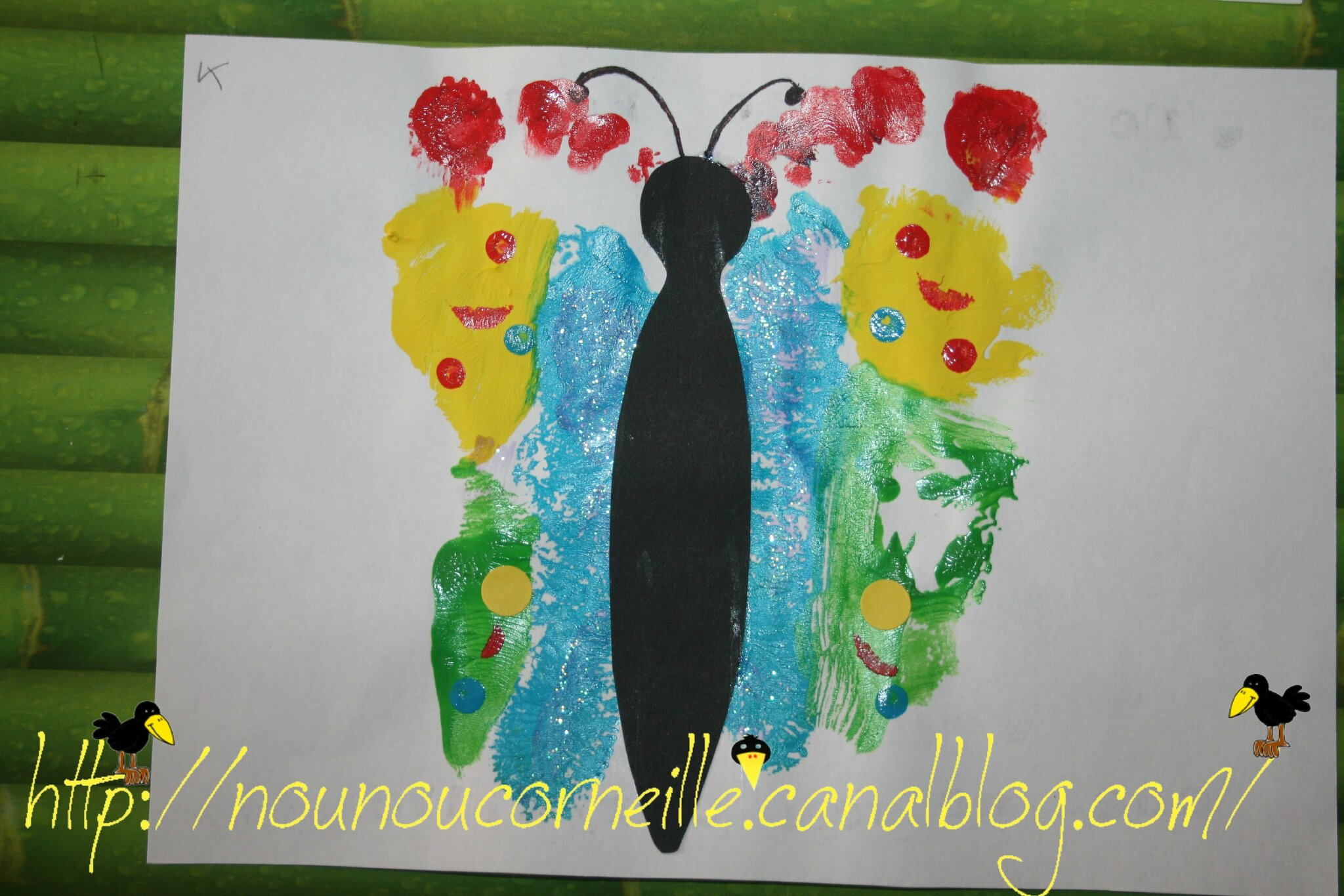 Le papillon de Kélya