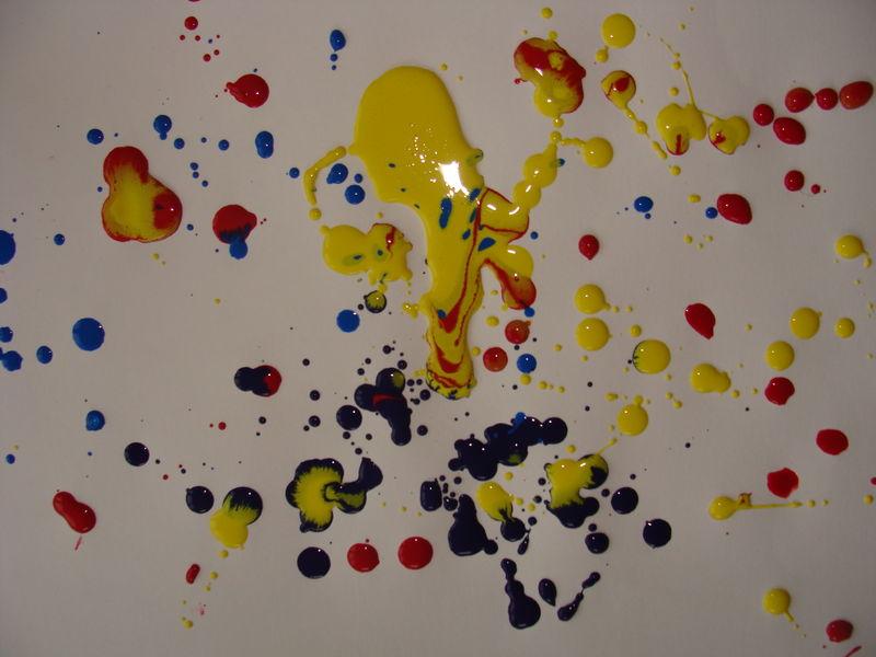 Jackson Pollock Ribambelles
