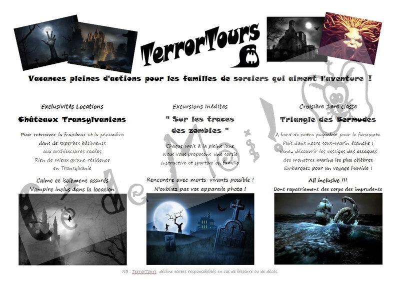 Depliant TerrorTours