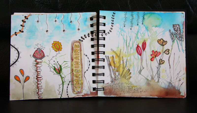 art journal gribouille 2