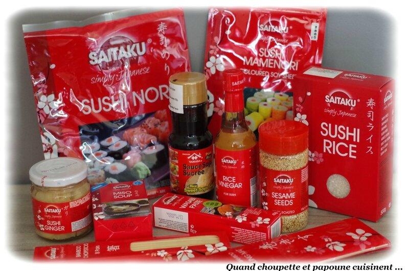 Alfred Clouet kit sushi-1301