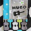 Housse de carnet de santé personnalisé HUGO