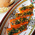 Barquettes de carottes à la chermoula