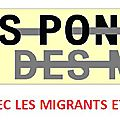 Le mans, 9 septembre 2015 : welcome refugees.