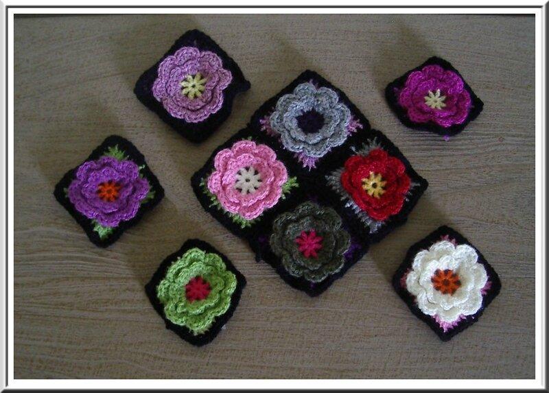 crochet fleurgranny