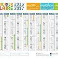 Plannings annuels de cours (5 niveaux)