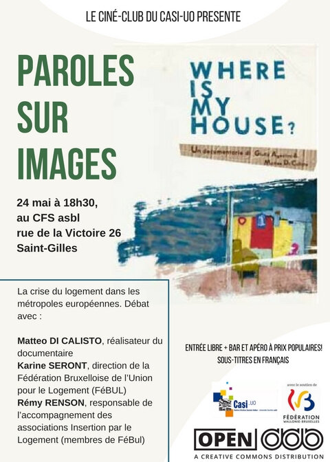 where is my house affiche