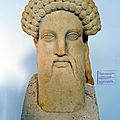 P1030934 - Musée de Dilos - Tête d'Hermès, 5eme siècle BC