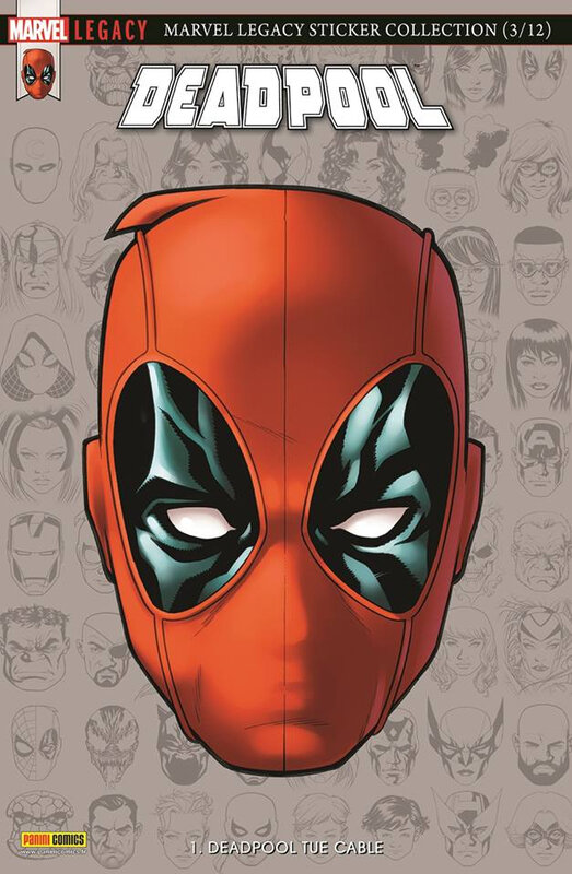 Panini Marvel Legacy Deadpool