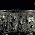 A bronze ritual tripod food vessel, liding, late shang dynasty, 11th century bc