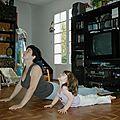 Le yoga , les enfants et moi ... love story