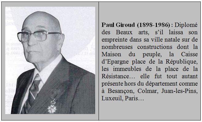 Pavé Paul Giroud