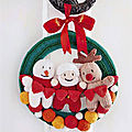 Christmas wreath - ann franklin