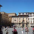 La piazza della signoria - la loge