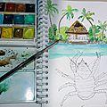 Paysages des iles et de polynésie