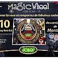 Magic wheel : le deuxième jeu exclusif de mai sur prizee !