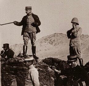 Colonel_Charles-Mangin_sur- le-djebel-guéliz-octobre-1912