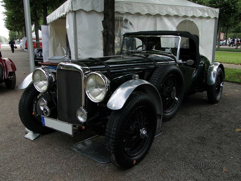 alvis speed 25-63 special 1938 a
