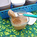 Mousse au mascarpone et pralinoise (dessert pour le ramadan)